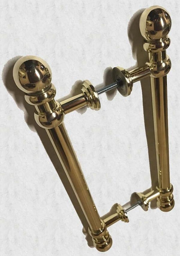 Латунная дверная ручка Латунная дверная ручка Бриза-Арт