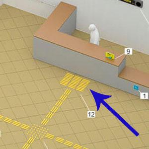 Как использовать тактильную плитку в помещениях и на улице