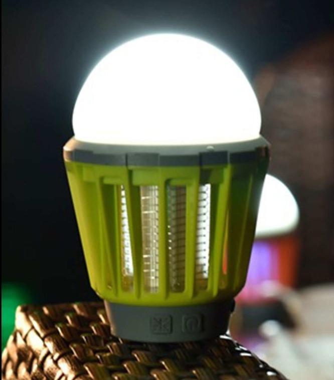 Светильник с защитой от комаров