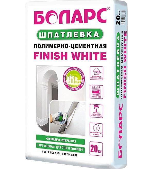 Шпатлевка Боларс Finish White