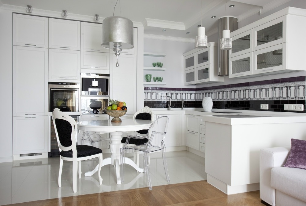 Дизайн кухни - открытая планировка
