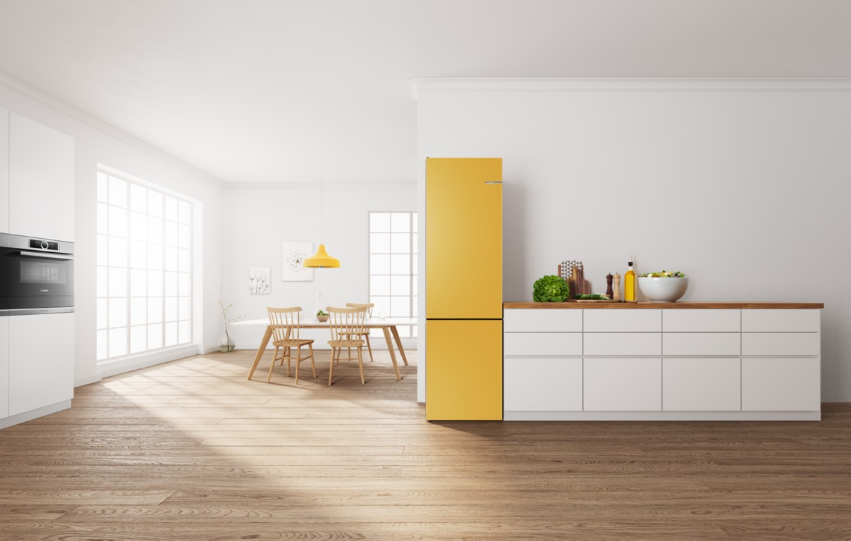 Холодильник VarioStyle в дизайне кухни